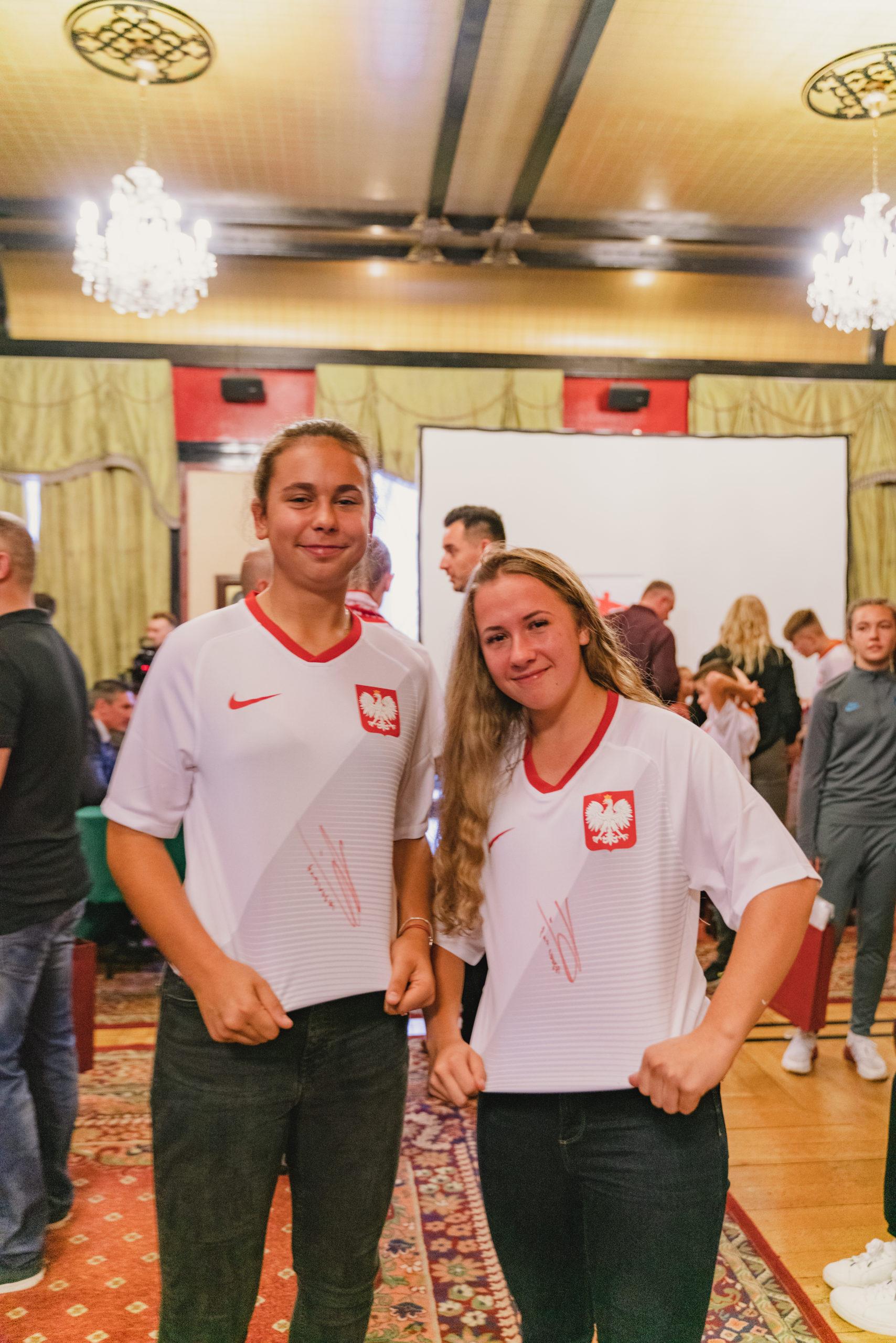 Wiktoria Kiszkis i Wiktoria Fronc